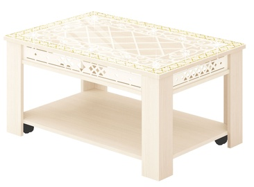 DaVita Agat 30.10 Coffee Table Astrid-Vanilla
