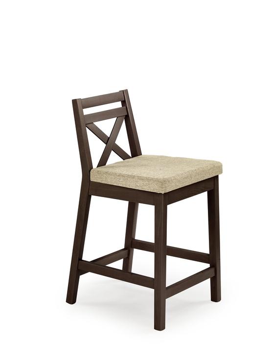 Kėdė Halmar Borys low, rudos spalvos