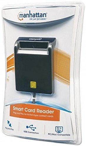 Manhattan 101776 Smart Card Reader External Contact Reader
