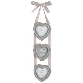 Nuotraukų rėmelių koliažas Širdys, 15 x 57 cm