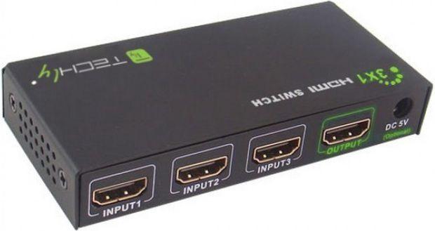 Techly HDMI switch 309913