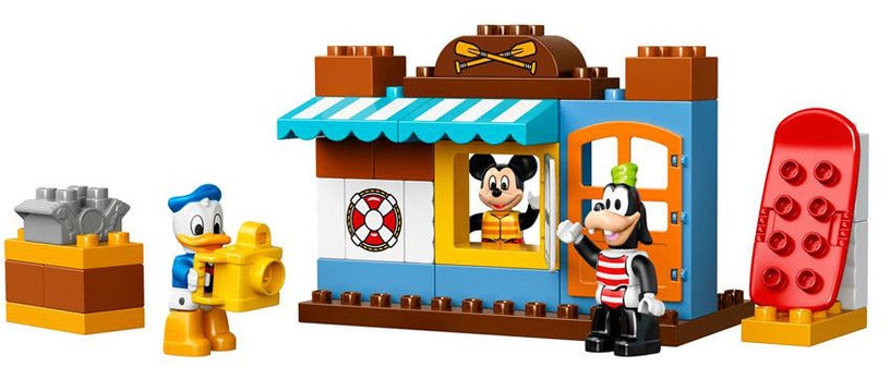 Konstruktor LEGO Duplo Mickey & Friends Beach House 10827
