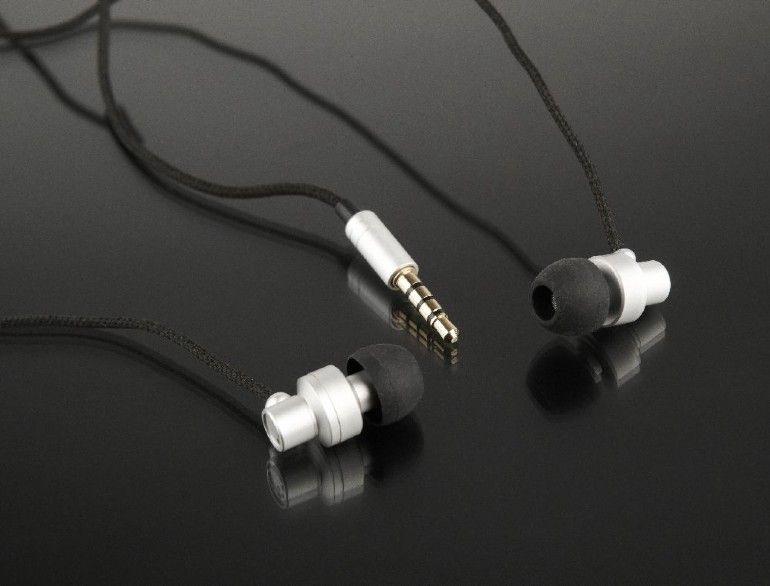 Ausinės Gembird Paris Metal In-Ear Silver