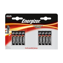Elementai Energizer Power AAA/LR03, 8 vnt.