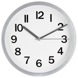 SN Quartz Wall Clock D22cm Grey