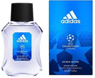 Tualetes ūdens Adidas UEFA Champions League Anthem Edition EDT, 50 ml