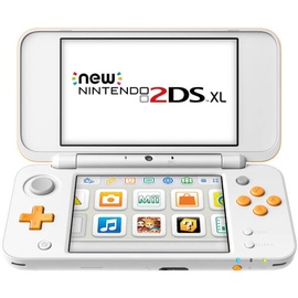 Nintendo New 2DS XL White/Orange