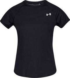 Under Armour Womens Speed Stride Short Sleeve Shirt 1326462-001 Black M