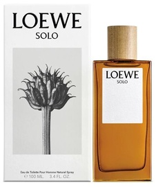 Tualetes ūdens Loewe Solo EDT, 100 ml