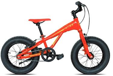 """Vaikiškas dviratis Esperia Fat Bike 9000, raudonas/geltonas, 16"""", 16"""""""