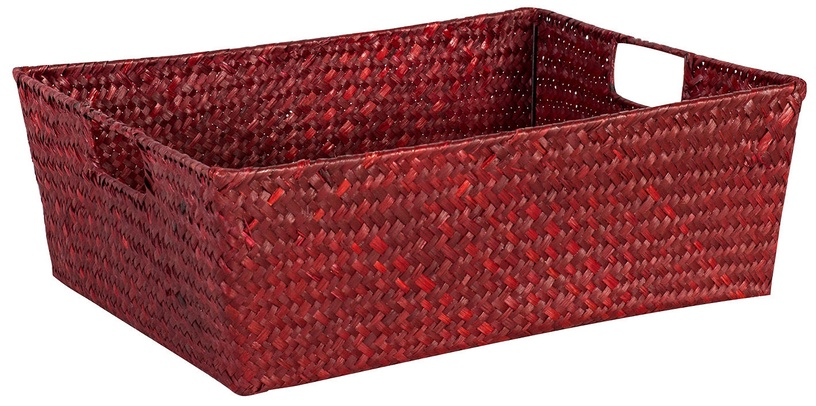 Home4you Basket 2 Petra 37x28x14cm Red