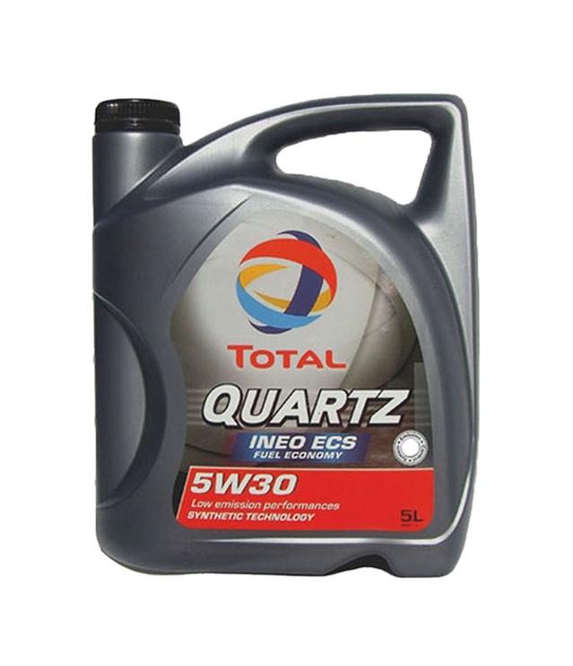 Motoreļļa Total Quartz Ineo ECS 5W30, 5l