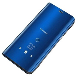 Hurtel Clear View Case For Samsung Galaxy S10 Plus Blue