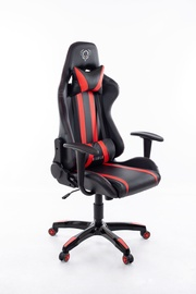 Игровое кресло Happygame Diablo 8058 Black/Red