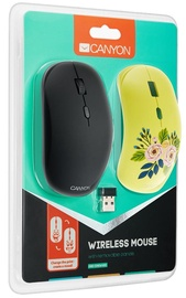 Canyon Wireless Mouse With Removable Cover CND-CMSW400R