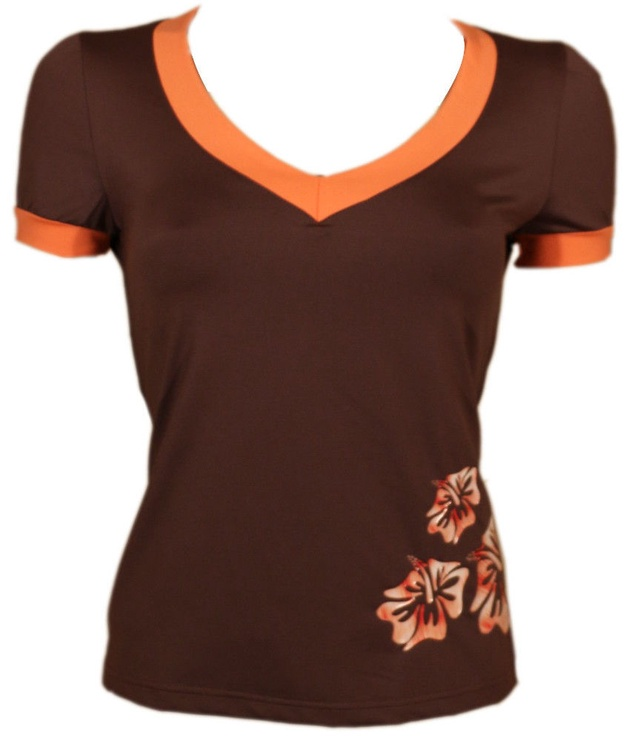 Футболка Bars Womens T-Shirt Brown 111 XL
