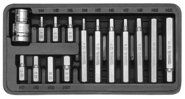 Yato YT-0413 Screwdriver Bit Set HEX 15pcs