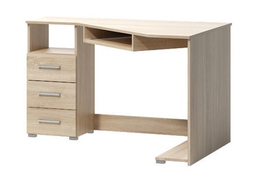 WIPMEB Tatris 17 Desk Left Sided Sonoma Oak