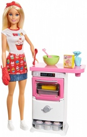 Mattel Barbie Bakery Chef Play Set FHP57