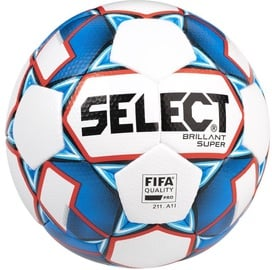 Select Brillant Super FIFA 2019 Ball 15004 Blue/White Size 5