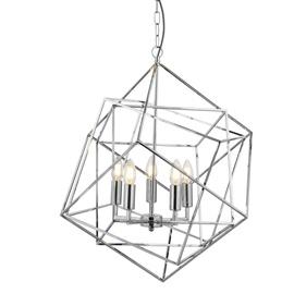Pakabinamas šviestuvas Searchlihgt Cube 7865-5CC, 5x7, E14
