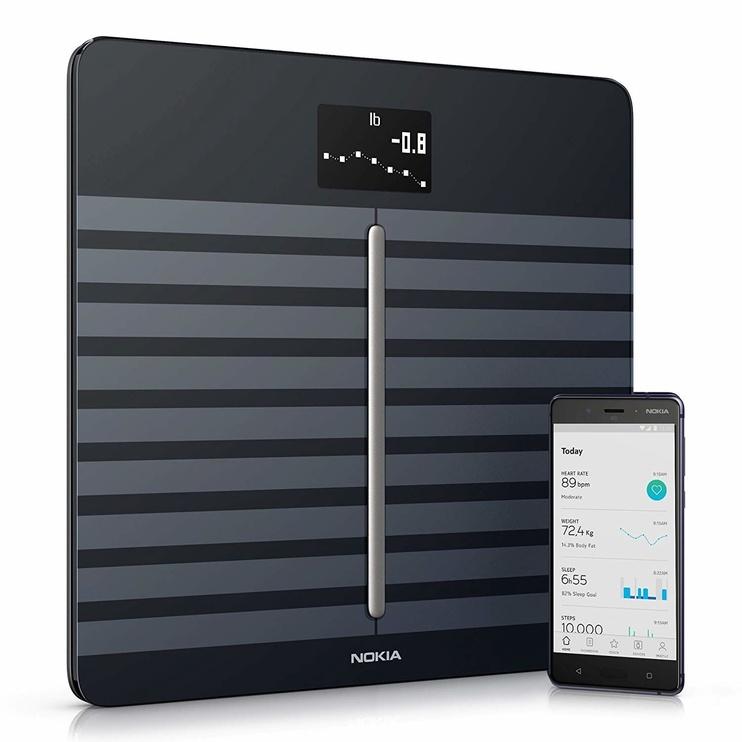 Svarstyklės Nokia Body Cardio Black