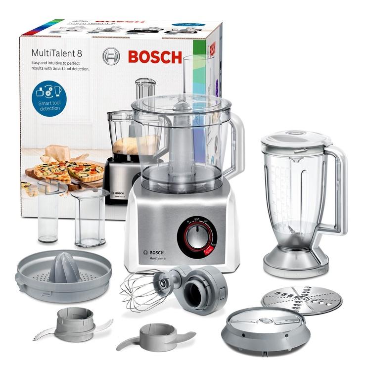 Köögikombain Bosch MultiTalent 8 MC812S820 White/Silver