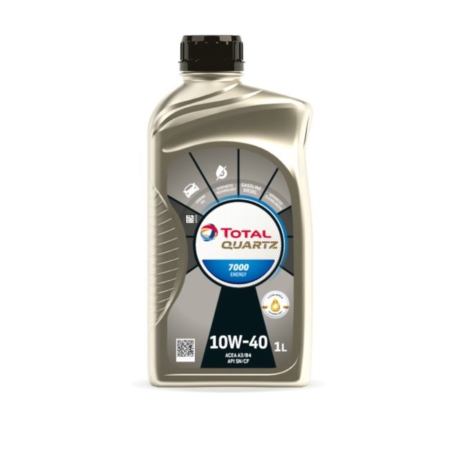 Mootoriõli Total Quartz 7000 10W/40 Engine Oil 1l
