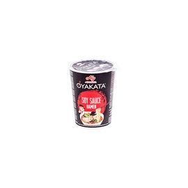 Makaronų sriuba OYAKATA Cup Ramen Soy Sauce, 63 g