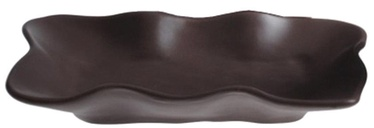 Bradley Organic Ceramic Plate 26cm Brown 8pcs