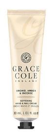 Grace Cole Hand & Nail Cream 30ml Orchid, Amber & Incense