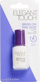 Elegant Touch Nails Nail Glue Brush-On 6 ml