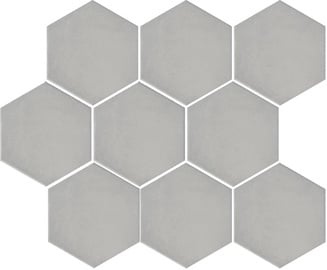 Akmens masės plytelės Turenne Grey, 12 x 10.4 cm