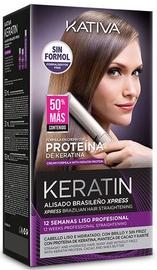 Kativa Xpress Keratin Brazilian Straightening Kit