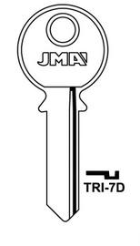 Raktų ruošinys Jma TRI-7D, 1 vnt.