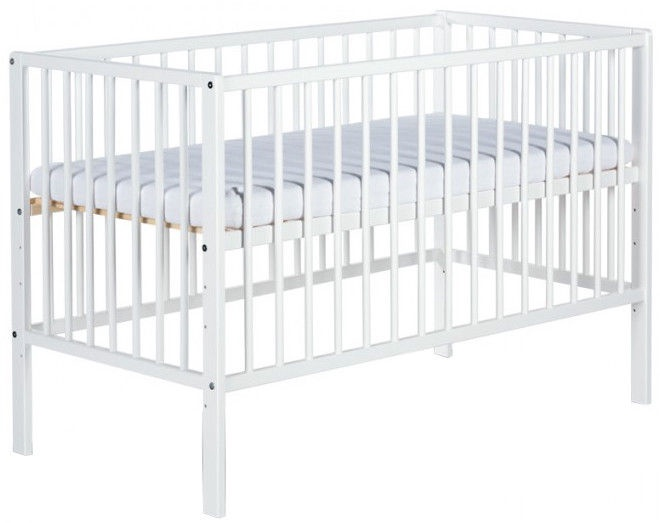 Vaikiška lova Klups Radek X White, 120x60 cm