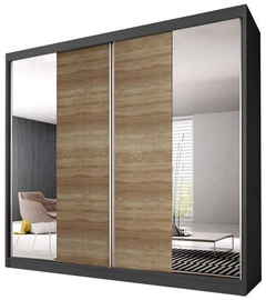 Idzczak Meble Wardrobe Multi 36 203 Graphite/Sonoma Oak
