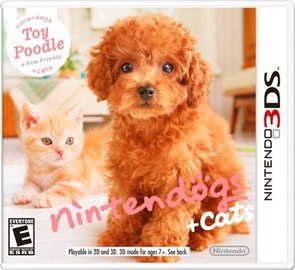 Nintendogs+Cats: Toy Poodle 3DS
