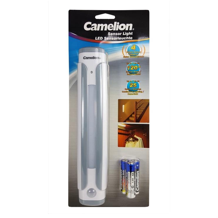 Valgusti camelion LED anduriga+ 3xAA