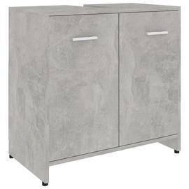 Шкаф для ванной VLX 802574, серый, 33 x 60 см x 58 см