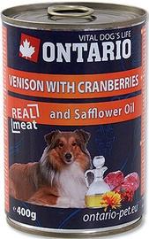 Ontario Venison With Cranberries 400g
