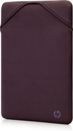Рюкзак Hewlett-Packard Reversible 2F1W8AA, серый/фиолетовый, 15.6″