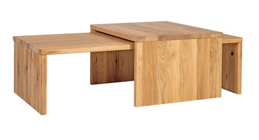 Home4you Coffee Tables Chicago Nest Oak 2pcs 28485