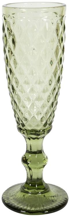 Home4you Glass Diana 180ml Champagne Green 83949