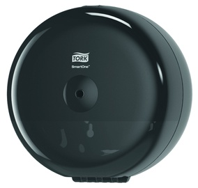 Tork SmartOne Mini Toilet Roll Dispenser Black
