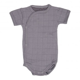 Lodger Romper Solid Body With Short Sleeves Donkey 74cm
