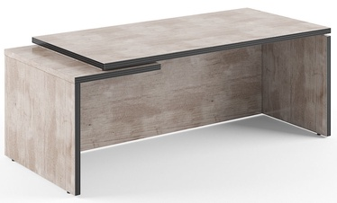 Skyland Executive Desk TCT 209L Oak Canyon