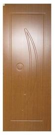 Vidaus durų varčia ZU-07, tamsiojo ąžuolo, 200x60 cm
