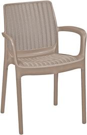 Sodo kėdė Keter 230671, ruda