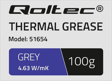 Qoltec Thermal Grease 4.63 W/m-K 100g